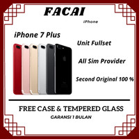 Iphone 7 Plus 32GB/ Bekas Original 100% | Mulus Fullset / IPHONE 7+ - NO FINGER PRINT