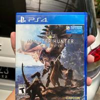 bd kaset ps4 monster hunter world second
