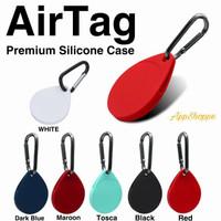 AirTag Case Silicone KEY CARIBINER Cover Gantungan PREMIUM Holder AT8