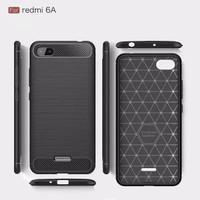 Xiaomi Redmi 6A Carbon Fiber Slim Fit Soft Case