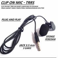 Mic Clip On microphone mini jack 3,5 Hp smule