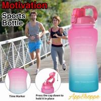 Sports Water Bottle BOTOL MINUM 2 ltr Outdoor Drinking Water Bottle