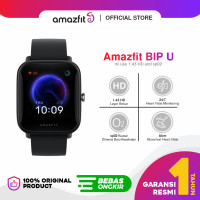 Amazfit Official Bip U Smartwatch Sport Jam Tangan Digital Smart Watch