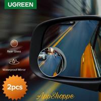 UGREEN Car Mirror 360°HD Blind Spot Mirrior Wide Angle Round
