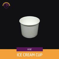 Paper Cup Ice Cream - Gelas Kertas - Jasuke - 8oz 240ml
