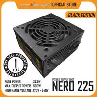 Power Supply POWER UP NERO 225 with FAN 12cm 500W