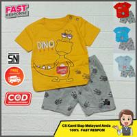 Setelan stelan kaos baju anak laki-laki cowok karakter murah 1-6 tahun