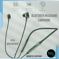 Headset Sport Wireless Bluetooth Earphone Stereo Neckband Android ipon