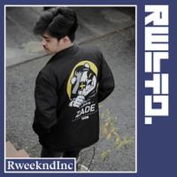 R Weeknd Coach Jacket Pria Zade Panda Series / Jaket Coach Pria