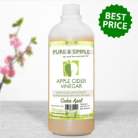 Pure and Simple Raw Unfiltered Cuka Apel 1 LTR