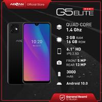 Advan G5 Elite 2021 6.1 Inci 3GB 16GB Quadcore Android10 Garansi Resmi - Hitam