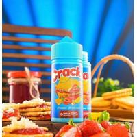 AUTHENTIC 100% Liquid Crackz V1 Strawberry Cheese Crackerz 100ML