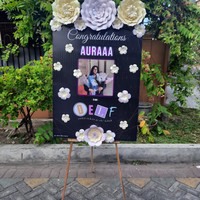 karangan bunga kertas surabaya - ove florist