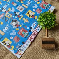 kertas kado sansan wawa bungkus kemasan hampers bayi pesta craft