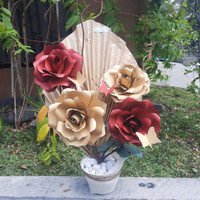 bunga meja bunga kertas premium surabaya - Ove Florist