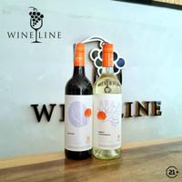 PROMO!! HATTEN Aga Red & Sweet Alexandria Sweet White Bali Wine 750ml