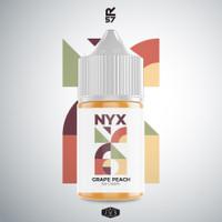 AUTHENTIC 100% LIQUID Saltnic NYX Grape peach By HERO57