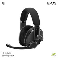 EPOS H3 HYBRID BLACK - Closed Acoustic Gaming Headset with Bluetooth