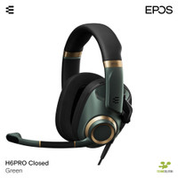 EPOS H6PRO CLOSED GREEN - Closed Acoustic Gaming Headset