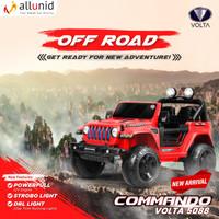 Mainan Anak Mobil Aki Jeep Commando - VOLTA 5088