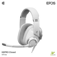 EPOS H6PRO CLOSED WHITE - Closed Acoustic Gaming Headset