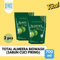 Sabun Cuci Piring Total Almeera Biowash Diswashing 800 ml - 2 Pcs