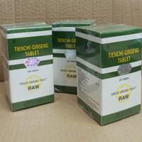 TIENCHI GINSENG TABLET RAW/ UNTUK HIPERTENSI DAN KOLESTEROL BPOM