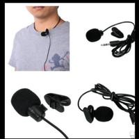 MIC CLIP ON JEPIT 3.5mm mic TIKTOK MICROPHONE SMULE YOUTOBERS PROMO