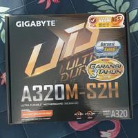 Gigabyte GA-A320M-S2H AM4 AMD Promontory A320 DDR4 Garansi Resmi