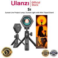Ulanzi S1 Optical Sunset Lamp Led Light with Mini Tripod Stand