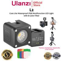 Ulanzi L2 Cute Lite Waterproof LED Light for Camera Smartphone etc