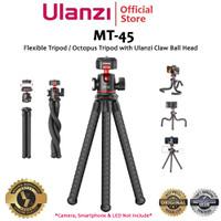 Ulanzi MT-45 Flexible Gorilla Tripod with Claw Ball Head for Camera HP