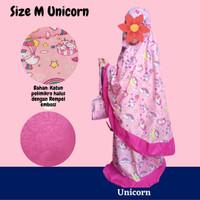 Mukena Anak Karakter Unicorn / Little Pony / LOL / Hello Kitty 1-12 Th