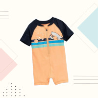 Bubble Shark Swimsuit / Baju Renang Bayi
