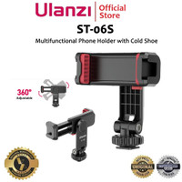 Ulanzi ST-06S Multifunctional Smartphone Phone Holder wtih Cold Shoe