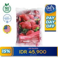Frozen Strawberry IQF - Frozen Fruit Firestone USA 500gr