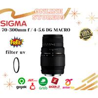Lensa Sigma 70-300 F/4-5.6 DG MACRO For Canon/Nikon. - nikon