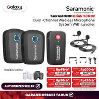 Saramonic Blink 500 B2 UltraCompact 2-Person Wireless Clip-on
