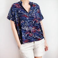 Naoko Blouse - Floral Pattern Collection   Onyoh OY-1797 - Motif A