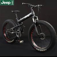 100% ORIGINAL Sepeda gunung mountain bicycle jeep roda besar