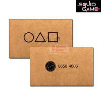 GARSKIN Kartu ATM E-Money Squid Game Invitation Card