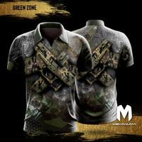 Jersey Tembak Mekanuma - Green Zone