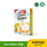 Poppins Corn Flakes 250g Cereal / Sereal Jagung Vegan