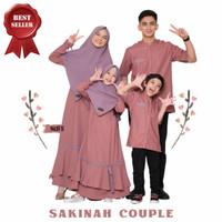 Couple Sarimbit Keluarga Family Lebaran Syar'i SAKINAH COUPLE - Armi, Koko Ayah