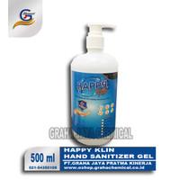 Hand Sanitizer Happy Klin Gel Pump 500 ml
