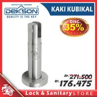 Kaki Kubikal Partisi Kaca Kamar Mandi WC Toilet Dekkson DKS CT001 SS