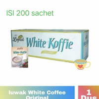kopi luwak white coffe 1 dus