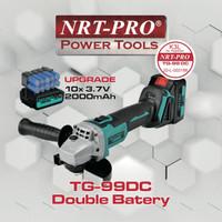 NRT-PRO TG-99 DC Cordless Mesin Gerinda Tangan 4 Inch 20 V - Grinder