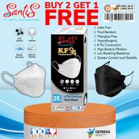 Masker KF 94 Premium / 3D Protection /Masker KF 94 Santis / isi 25 pcs