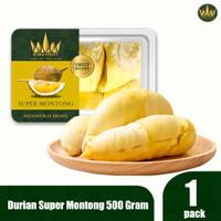 King Fruit Durian Super Montong Premium Durian berat 500 Gram